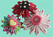Photo of Three Kanzashi